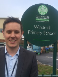 Andy Howe, deputy head at Windmill Primary School, Oxford -hi re JPEG